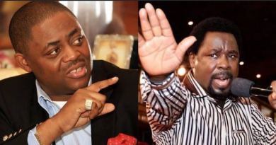 #COVID-19 – 'FG  SHOULD CONNECT TB JOSHUA THROUGH SATELLITE TO ISOLATION CENTRES IN NIGERIA' – FFK