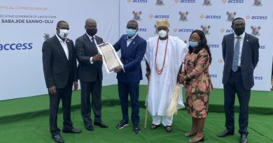 CSR: Access Bank, Lagos State Government Commission Oniru Road Project